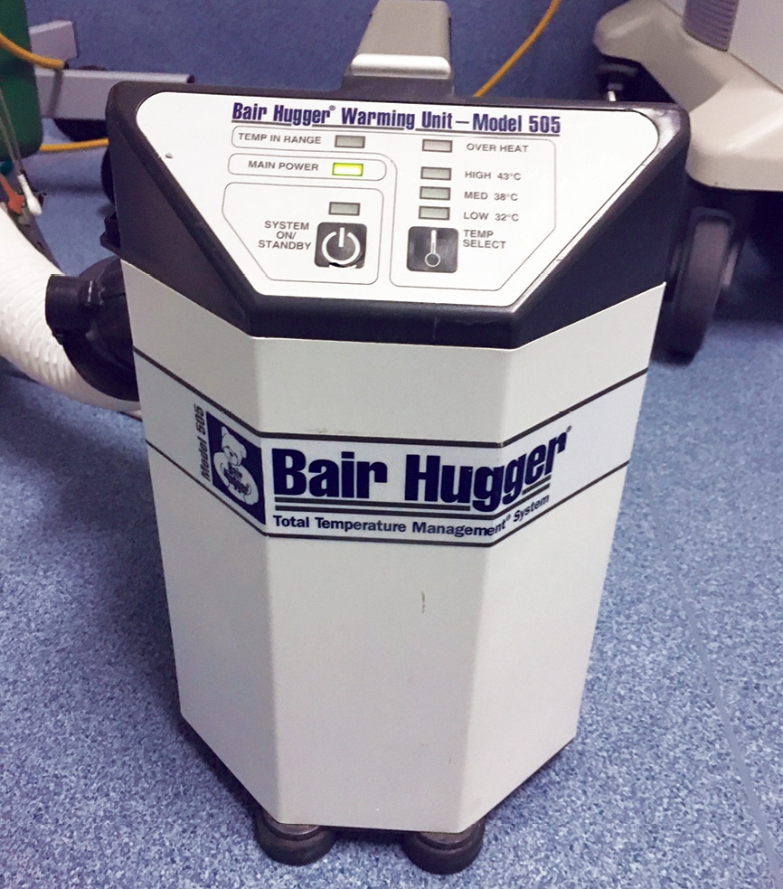 FIGURE 3. Bair Hugger unit. Image courtesy of Brenda Feller.
